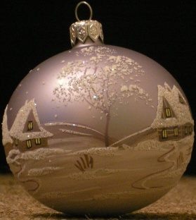 Christmas tree decoration, hand-made in Poland