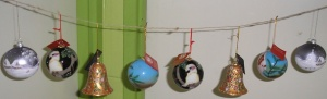 New Christmas tree decorations, view 1